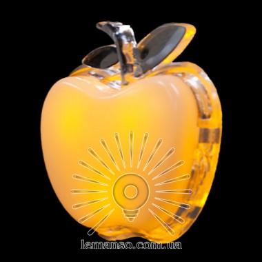 Ночник Lemanso Яблоко жёлтый 3 LED / NL3 описание, отзывы, характеристики