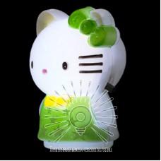 Ночник Lemanso Кошечка зелёный / NL9
