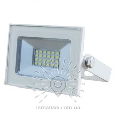 LED Floodlight 10w 6500K IP65 680LM LEMANSO white / LMP33-10