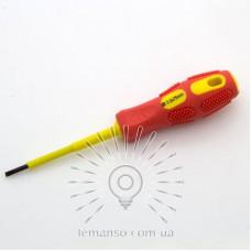 Отвертка диэлектрическая до 380V LEMANSO 22х73 мм LTL60001