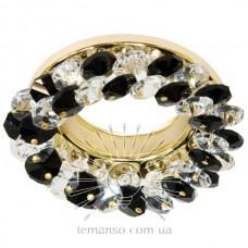 Спот Lemanso CD4141 черный-золото
