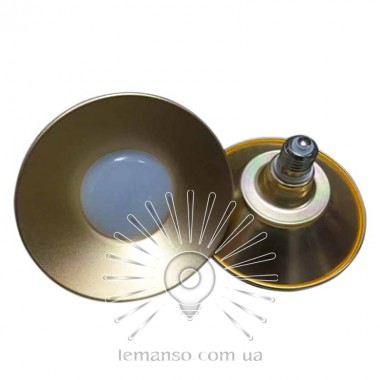 Лампа Lemanso LED IP65 + метал. отражатель 50W E27 4000LM 6500K ант. золото/ LM712 описание, отзывы, характеристики