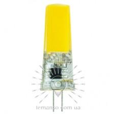 Лампа Lemanso світлодіодна G4 COB 3W AC 220-240V 300LM 6500K силікон / LM3033