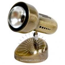 Спот Lemanso ST189-1 60W R50 E14 металл без выкл. / ант. золото