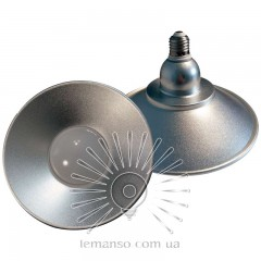 Лампа Lemanso LED IP65 + отраж. 10W E27 800LM 6500K серебро/ LM708
