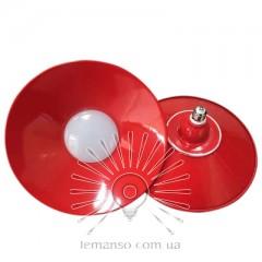 Лампа Lemanso LED IP65 + метал. отражатель 24W E27 1920LM 6500K красный/ LM710