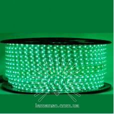 Дюралайт-лента LEMANSO 60LED IP65 зелёная 2835SMD 230V 5W/м 360LM / LM588