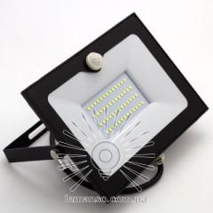 Прожектор LED 50w 6500K4000LM LEMANSO со встроенным датчиком / LMPS55