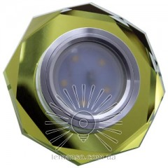 Спот Lemanso ST152 жёлтый-хром GU5.3
