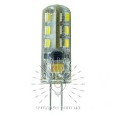 Лампа Lemanso світлодіодна G4 24LED 1,5W AC/DC 12V 150LM 6500K силікон / LM3030