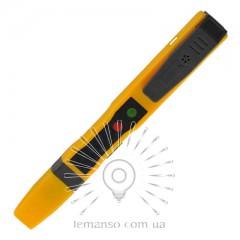 Отвертка - индикатор напряжения 80-500V LEMANSO 3.0x140мм LTL10070