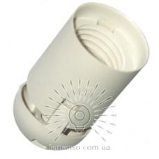 Патрон LEMANSO Е27 пластиковый / без резьбы / белый / LM107