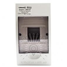 Коробка под 4 автоматы LEMANSO накладная, ABS / LMA107