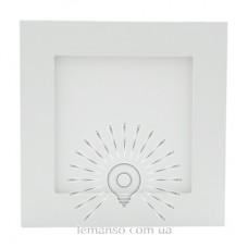LED панель Lemanso 6W 360LM 165-265V 4500K квадрат / LM594