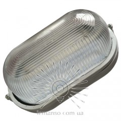 Светильник LED Lemanso 12W овал белый 170-265V 960LM IP65 / LM972