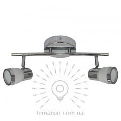Спот Lemanso ST182-2 двойной G9 / 40W хром