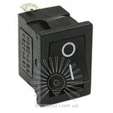 Переключатель  Lemanso  LSW17 малый чёрный 3 полож.без фикс./ KCD1-123-2 описание, отзывы, характеристики