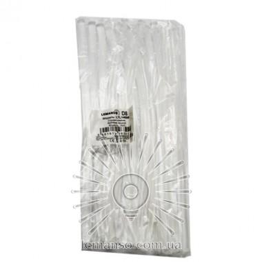 Стержни клеевые 15шт пачка (цена за пачку) Lemanso 8x200мм прозрачные LTL14006 описание, отзывы, характеристики
