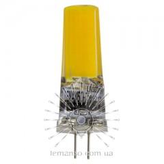 Лампа Lemanso св-ая G4 COB 3W AC/DC 12V 300LM 6500K силикон / LM3031