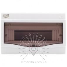 Коробка под 9-12 автоматов LEMANSO внутренняя, ABS LED индикатор / LMA120