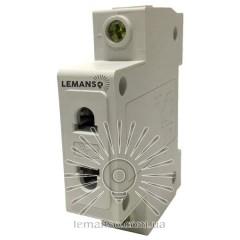 Модульная розетка Lemanso на DIN-рейку без заземления 16А LM689