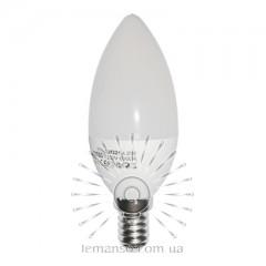 Light bulb Lemanso LED C37 E14 4,2W 380LM 6500K matte / LM321