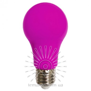 Лампа Lemanso св-ая 7W A60 E27 175-265V розовая / LM3086 описание, отзывы, характеристики