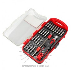 Bits and sockets set 21pcs. LEMANSO LTL10080