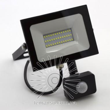 Прожектор LED 30w 6500K 2400LM LEMANSO 175-265V с датчиком / LMPS37 описание, отзывы, характеристики