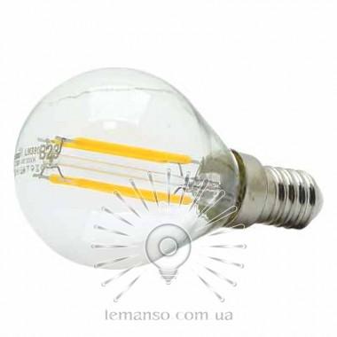 Лампа Lemanso LED G45 E14 4W 4LED 420LM 4500K / LM390 шар описание, отзывы, характеристики