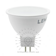 Лампа Lemanso світлодіодна MR16 6W 600LM 6500K 175-265V матова / LM3070