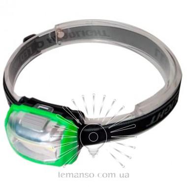 Фонарик LEMANSO COB на голову зелёный / LMF46 пластик описание, отзывы, характеристики