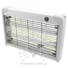 Светильник от комаров T8 2x10W Lemanso LMN106 серебро
