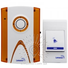 Звонок Lemanso 12V LDB43 белый с оранжевым