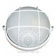 Светильник LEMANSO круг метал. 100W с реш. BL-1102 белый
