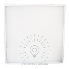 LED панель Lemanso 36W 3000LM 6500K 180-265V / LM1053 накл+врізн (метал.драйв всередині) (опал)