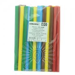 Стержни клеевые цветные 11х200мм, упак.20шт.(цена за упак.) LTL14028