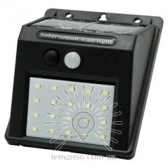 Подсветка для стены LED Lemanso 3,5W 350LM IP65 с д/движения и солнечной панелью  / LM1102 + аккумулятор