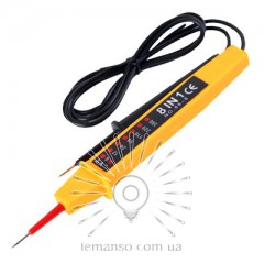Отвертка - индикатор напряжения 6-380V LEMANSO 2.0x185мм LTL10071
