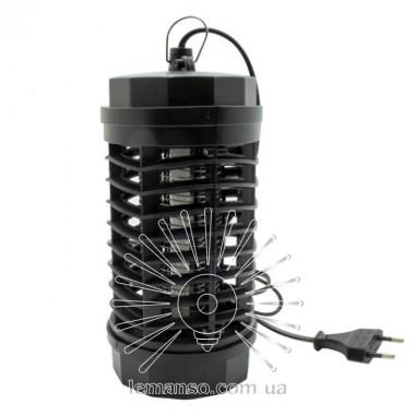Светильник от комаров T5 4W G5 220-240V Lemanso LM3065 черный 115x115x225мм описание, отзывы, характеристики