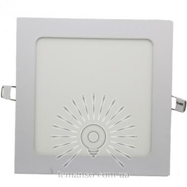LED панель Lemanso 12W 840LM 85-265V 4500K квадрат / LM1048 Комфорт описание, отзывы, характеристики
