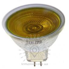 Лампа Lemanso JCDR 50W 230V жовта