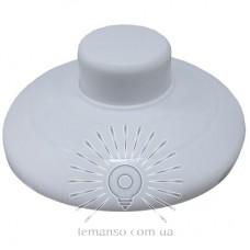Кнопка круглая Lemanso белая / LMA095