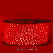 Дюралайт-лента LEMANSO 60LED IP65 красная 2835SMD 230V 5W/м 360LM / LM588