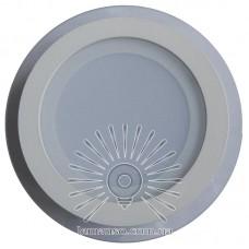 LED панель Lemanso 9W 360LM 4500K 85-265V круг / LM1031 + стекло Монта
