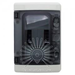 Коробка IP65, под 5 автоматов LEMANSO накладная, пластик / LMA7407