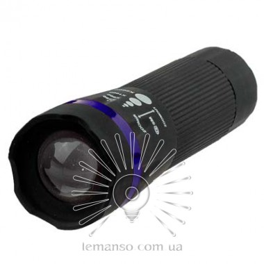Фонарик LEMANSO 1W Lumen чёрный / LMF39 пластик описание, отзывы, характеристики