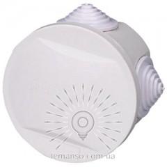 Расп. коробка LEMANSO 80*50 круг / LMA206 с резиновыми заглушками