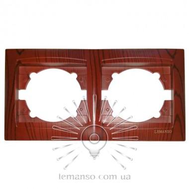 Рамка 2-я LEMANSO Сакура вишня горизонтальная LMR1511 описание, отзывы, характеристики