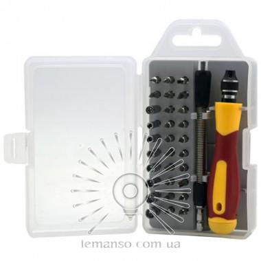 Набор сменных головок и бит с держателем и удлинителем33шт. LEMANSO LTL10034 описание, отзывы, характеристики